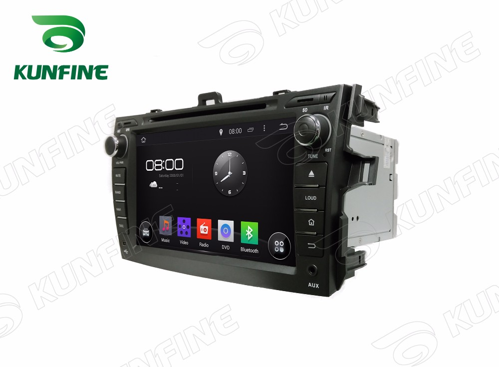 Car dvd GPS Navigation player for COROLLA  2006-2011 8 inch D
