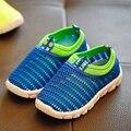 Novas Crianças de Verão Sapatos Meninos Meninas Sports Running Shoes Malha Respirável Moda Estudante Sneaker (Baby/Criança/adolescente)