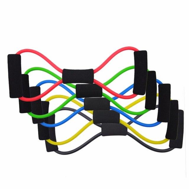 1Pc Portable Yoga Belt Elastic Pull Rope Gym Yoga Fitness Sport ...