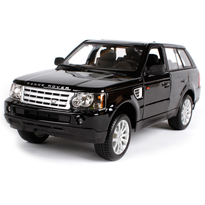 Bburago 1:18 luxury range rover sport suv black car diecast real car model cool motorcar as birthday present for kids 12069 1 8mm stainless steel quick release pin 12mm 14mm 16mm 17mm 18mm 19mm 20mm 21mm 22mm 23mm 24mm repair spring bar for watch band