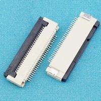 100 pçs/lote 1.0mm 28 P Para Baixo Conector Clamshell FFC FPC 1.0mm Pitch 28Pin/forma Flexível Plana Conector do cabo|cable joint connector|cable connector types|cable checker -