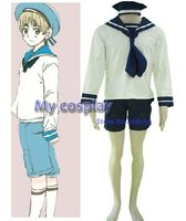 Hetalia Axis Powers Italy Sailor Uniform Men S Cosplay Costume Freeshipping