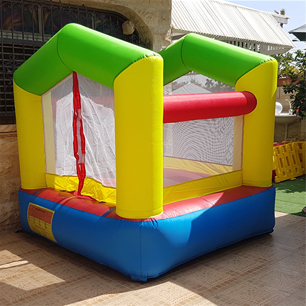 Residential Bounce Hosue Trampoline For Kids With Blower Pula Pula Bouncy Castle Birthday Gift For Kids
