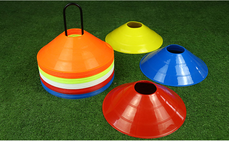 Football Training Equipment Sign Disc Sign Bucket Pile Obstacle Sign Basketball Training Equipment Thicker Models