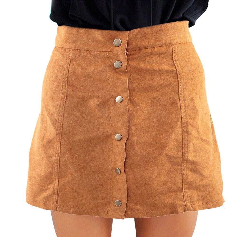 Aliexpress.com : Buy 2015 Hot Women Skirts Sexy Faux Suede Skirt ...