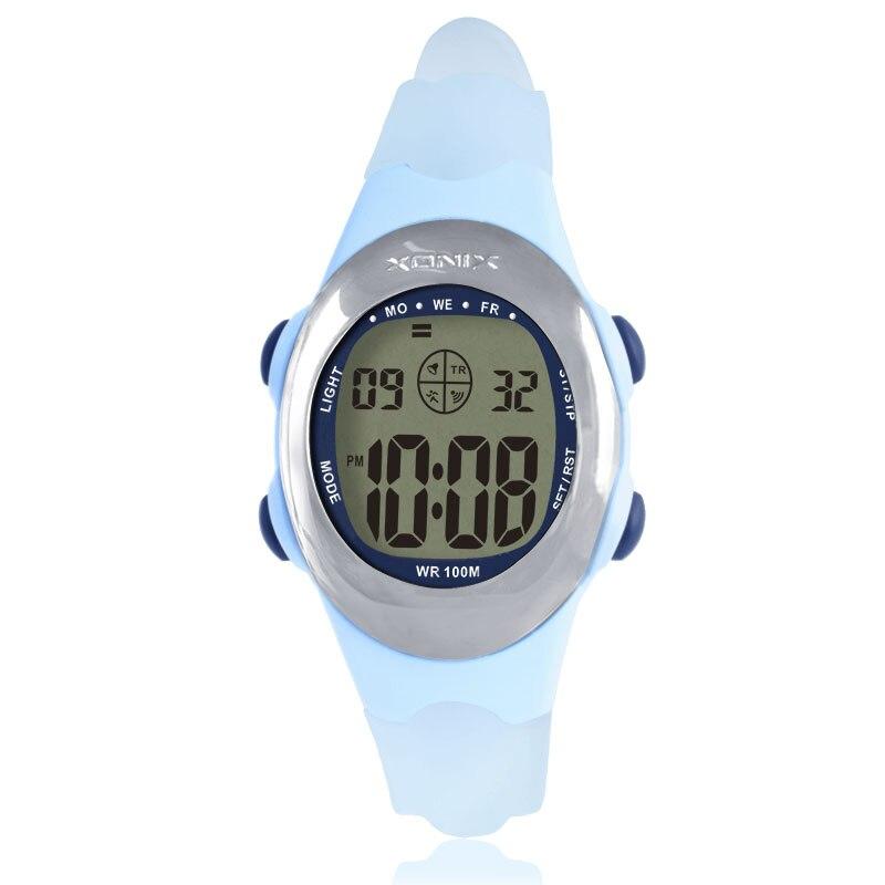 XONIX Accurate Personality Simple Waterproof Sports Watch Electronic Watch Female Band Laser Films ADA