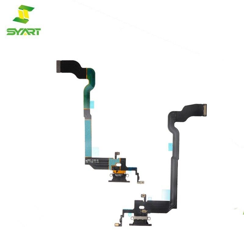 5-20pcs/lot New For Apple iPhone X USB Dock Charging Port Socket Connector Flex Cable Black