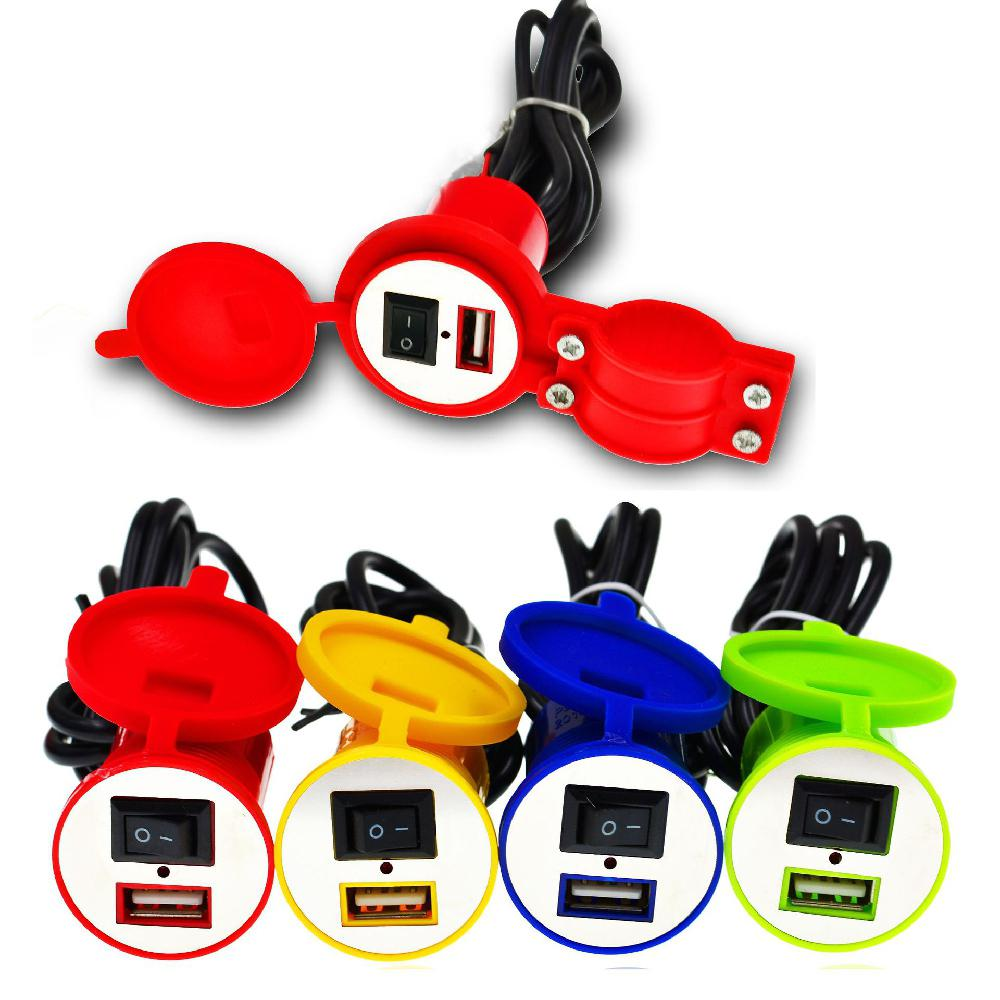 Dragonpad Universal Waterproof <font><b>12V</b></font> To 5V 1.5A Motorcycle Smart Phone GPS <font><b>USB</b></font> <font><b>Charger</b></font> Power Adapter Car <font><b>Motor</b></font> Electric Supplies image