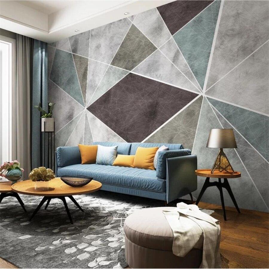 Custom Wallpaper Nordic Geometric