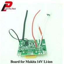 BL1430 akumulator litowo jonowy płytka obwodu drukowanego do Makita 14.4V 1.5Ah 3.0Ah 4.5Ah BL1460 BL1415 BL1440 BL1445 ochrony ładowania