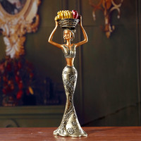 Fashion Thai Girl Crafts Home Art Decoration National Style Artwork Collectible Figure M04