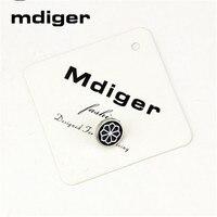 Mdiger Liga Broches Emblemas Pin de Lapela dos homens do Smoking Botões Collar Pin Up Personalidade Teste Padrão de Flor Corsage Broche 10 PÇS/LOTE