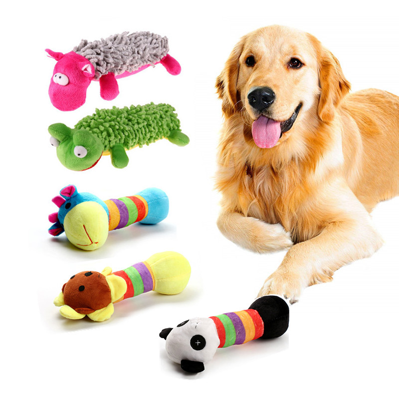 Pet Dog Squeaky Play Toy Soft Puppy