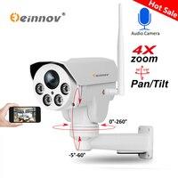 Einnov IP Camera Wireless Wifi PTZ 4X Zoom 2.8 12mm 3.6mm 6mm Full HD 1080P 960P Outdoor Security Video Surveillance Audio Cam