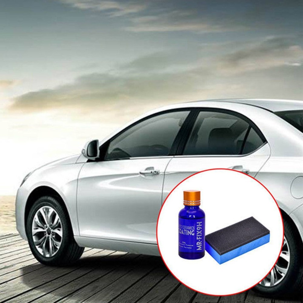 Car Accessory Car Liquid Glass 9H Crystal Coating Nano Hydrophobic Ceramic Coating Car Care Wax Crystal Car Coating Kit 2018