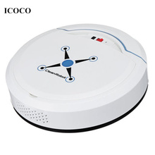 New Rechargeable Automatic Cleaning Robot Smart Sweeping Robot Vacuum Floor Dirt Dust Hair Cleaner Home Sweeping Machine Sweeper цена и фото