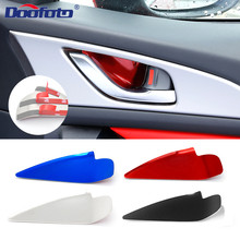 DOOFOTO Car Accessories Interior Car Handle Bowl Cover Decoration Auto Styling For Mazda CX-3 CX-4 3 6 Axela ATENZA CX-5 CX 5 video 2017 2018 cx 5 daytime light free ship led cx 5 fog light car accessories atenza axela cx 3 cx 4 car styling cx 5 cx5