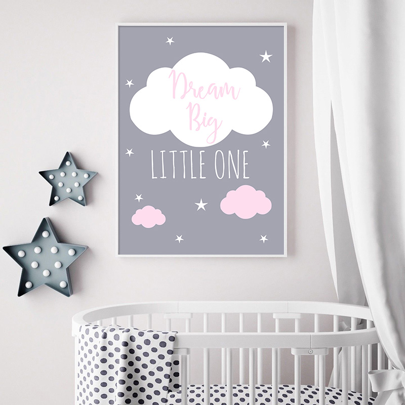 HTB1yzVrahv1gK0jSZFFq6z0sXXau Unicorn Canvas Poster Baby Girl Nursery Quotes Wall Art Print Love You to the Moon Painting Nordic Kids Room Decoration Picture