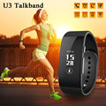 U3 Smart Wristbands Bluetooth 4.0 Watch Phone Selfie Calories Consumption SMS Reminder Smart Bracelet For Android/IOS Smart Band