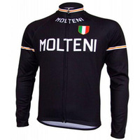 Molteni Ropa Ciclismo Hombre Invierno Winter Thermal Fleece Long Cycling Jersey Maillot Only 2016 Mtb Clothing
