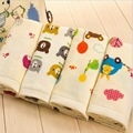 50X25CM Soft And Comfortable Baby Face Towels 100% Cotton Children Towels Cartoon Face Towels