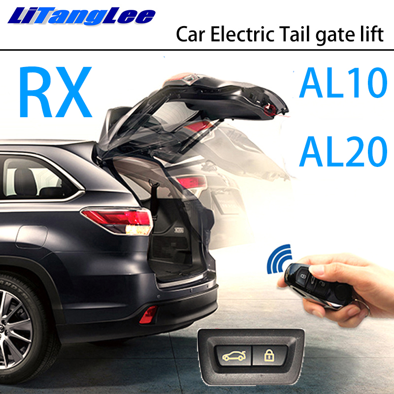 LiTangLee Car Electric Tail Gate Lift Trunk Rear Door Assist System For Lexus RX RX200t RX270 RX350 2010~2019 Remote Control