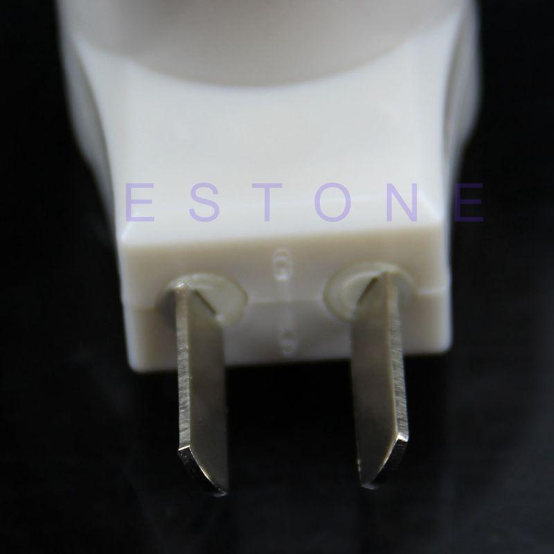 E27 prise femelle vers adaptateur prise ue avec interrupteur de commande marche-arrêt