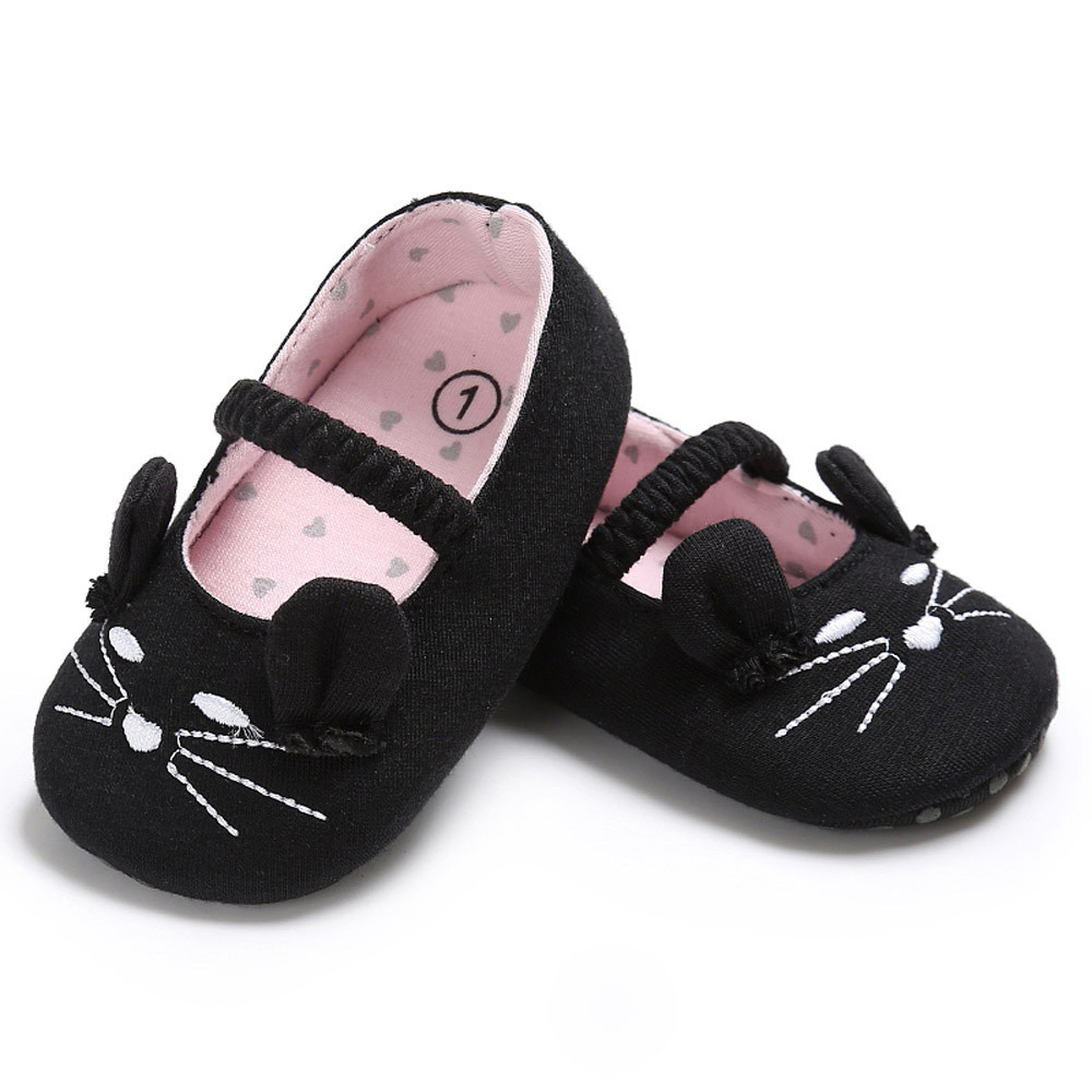 Huang Neeky W#5 Fashion Baby Infant Kids Boy Girl Soft Shoes Cat Pattern Crib Toddler Newborn Shoes Summer Hot