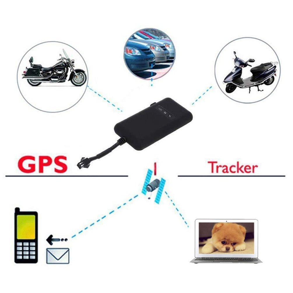 Gt02A Locator Gps Motorcycle Small Electric Vehicle Satellite Positioning Tracker Vehicle Anti-Theft Tracker