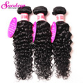 Rosa Hair Products Malaysian Water Wave Hair 3Bundles 7A Grade Virgin Unprocessed Human Hair Extension Water Wave Malaysian Hair