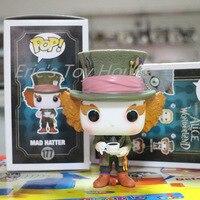 New Funko pop Original Alice in Wonderland Mad Hatter Figure Hot Movie Collectible Vinyl Figure Model Toy with Original box