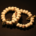 Blessed Mala Bracelet Tibetan Bodhi Seeds Dorje Bell Bracelet Buddhist Beads Bracelet Wrist Mala