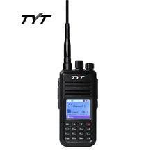 TYT MD-380 DMR Цифровой Мобильной Радиосвязи Walkie Talkie UHF 400-480 МГц Tytera MD380 Радиопрограмм Кабель и CD