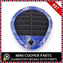 Nuevo Material de ABS UV protegido Mini Checker estilo tablero cubierta Airvent para Mini cooper R60 (2 unids/set)