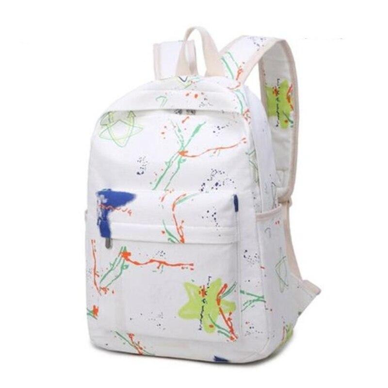 Women Men Polyester Backpacks Large School Bags For Teenager Boys Girls Travel Laptop Backbag Mochila Rucksack black