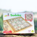 Free shipping Intelligence logic game Sudoku, chess and sudoku wooden children classic toys