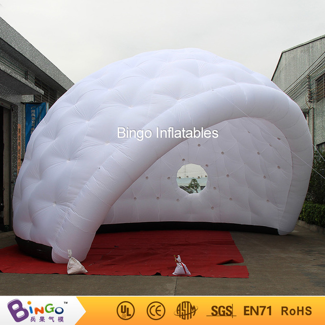 Free delivery igloo dome inflatable yurt tent hot sale nylon material golf shape blow up igloo & Free delivery igloo dome inflatable yurt tent hot sale nylon ...