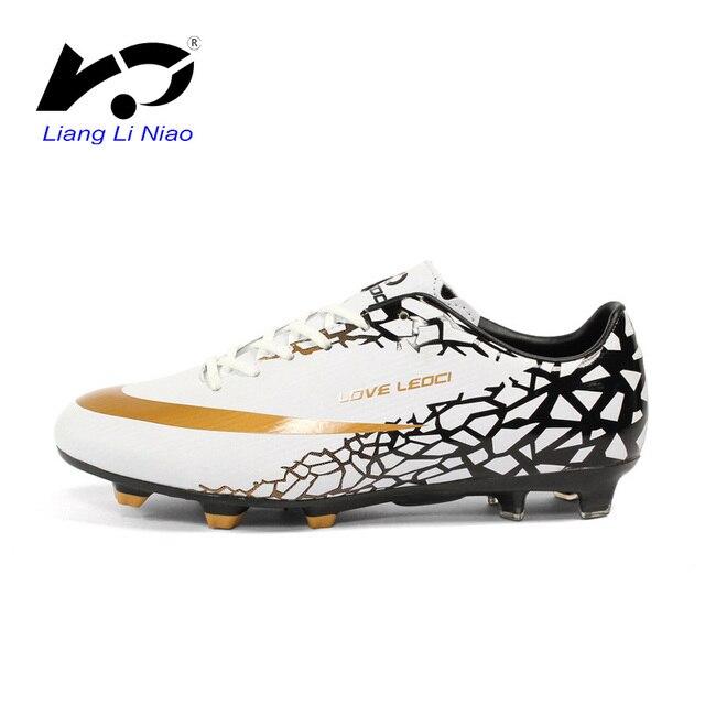 Novas Chuteiras de futebol Homens Menino Crianças Sapatos de Futebol FG  Sapatos de Futebol Profissional de 0c144457ab70e