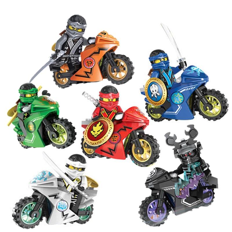 singe sale mirage motorcycle phantom ninja kai jay zane cole building blocks bricks toys