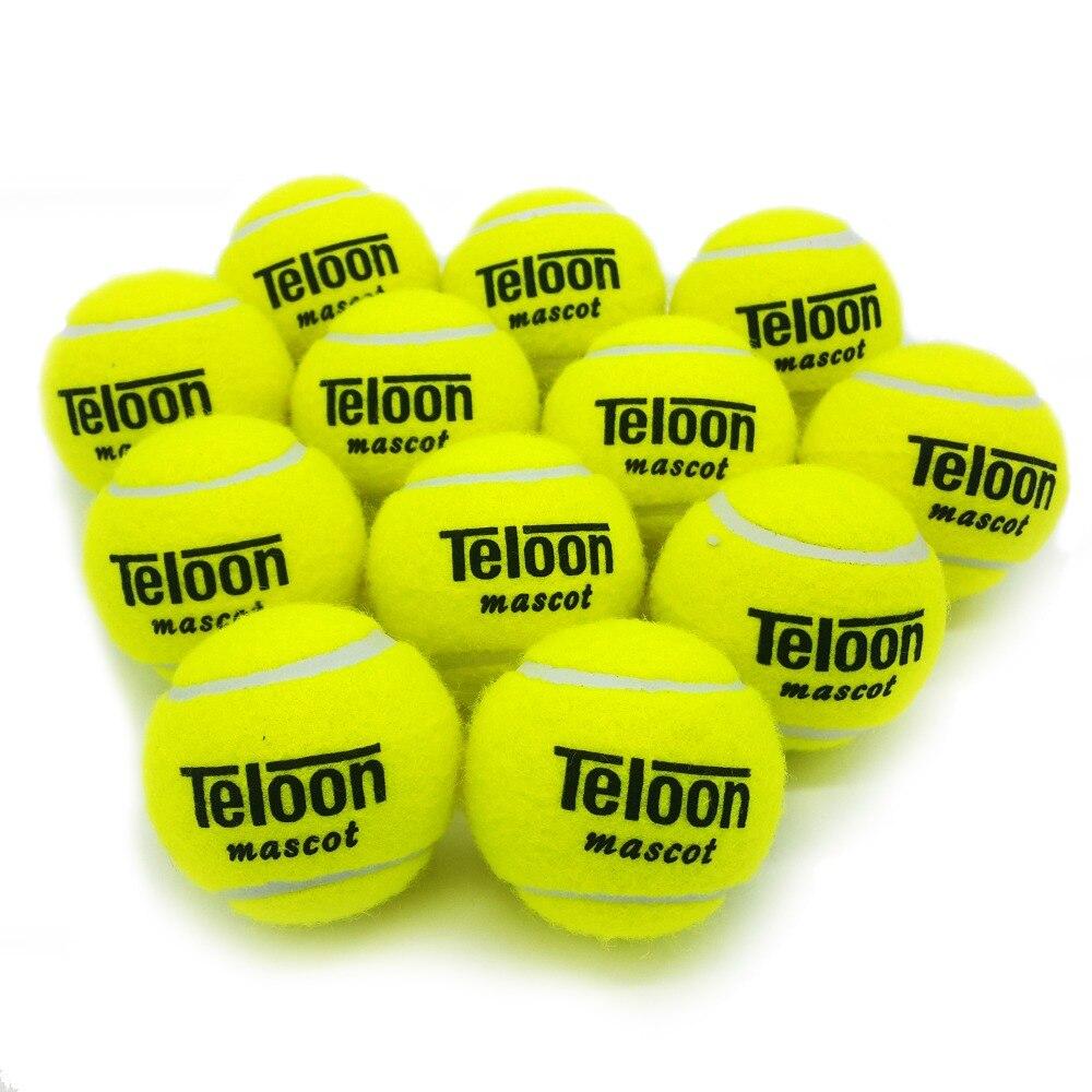 801 מותג חדש עמידות גבוהה תרגיל עיסוק Tranning עמיד כדור טניס כדור טניס משלוח חינם מהיר 12 יח'\חבילה