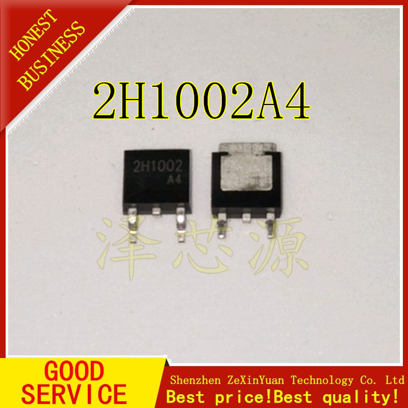 100PCS/LOT 2H1002A4 2H1002 TO-252 Constant Current Diode 17-40mA 100V LED Power Supply
