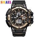 Más nuevos Mens Reloj de Los Hombres Relojes Deportivos Militar S Choque Moda G Estilo Impermeable Marca de Lujo DEL Análogo LED Digital Reloj de Pulsera Caliente