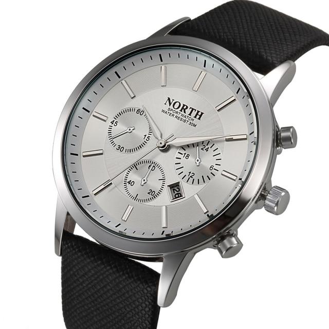 Zegarek męski NORTH wyjątkowy elegancki casualowo formalny różne kolory