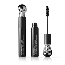 Makeup 3D Fiber Lashes Mascara Eyelashes 1pc Skull Handle INTENSE BLACK Thick Curling Mascara Waterproof Eye Lashes Tools