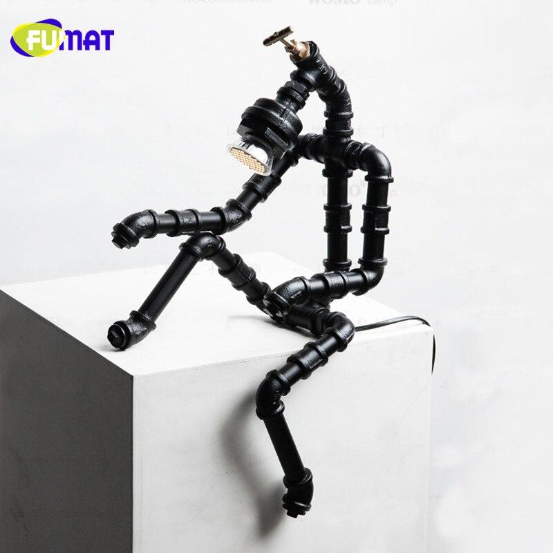 Iron Robot Lamps 14