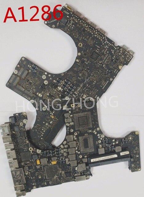 2012years repair  820 3330 820 3330 A/B Faulty Logic Board For A1286 repair presented a smc stencil