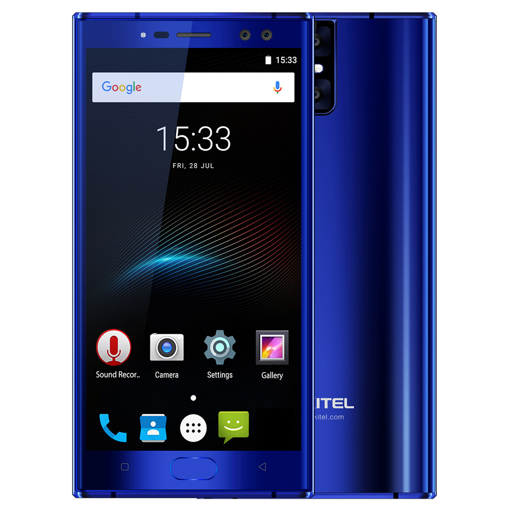 D'origine OUKITEL K3 Quatre Cames 6080 mah 9 v/2A 4g Mobile Téléphone 5.5 ''FHD Android 7.0 octa Core 4 gb + 64 gb MTK6750T 13MP Smartphone