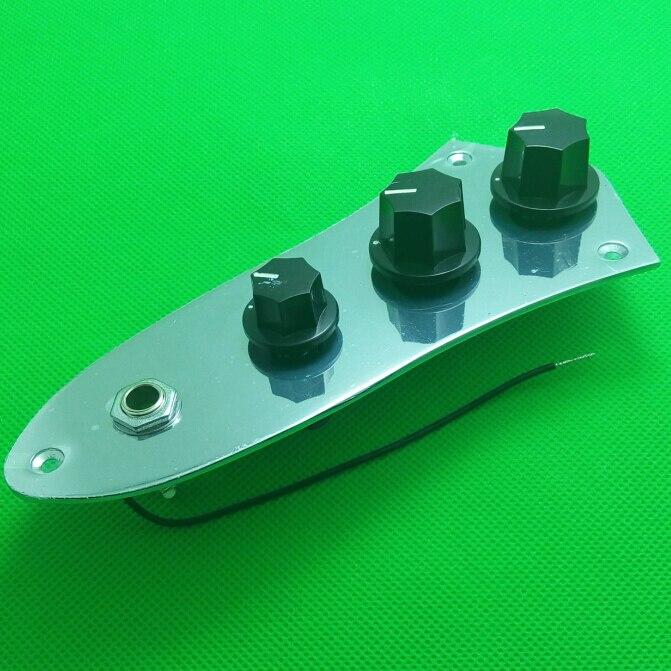 2PCS 크롬 도금 유선로드 컨트롤 플레이트 블랙 - 악기