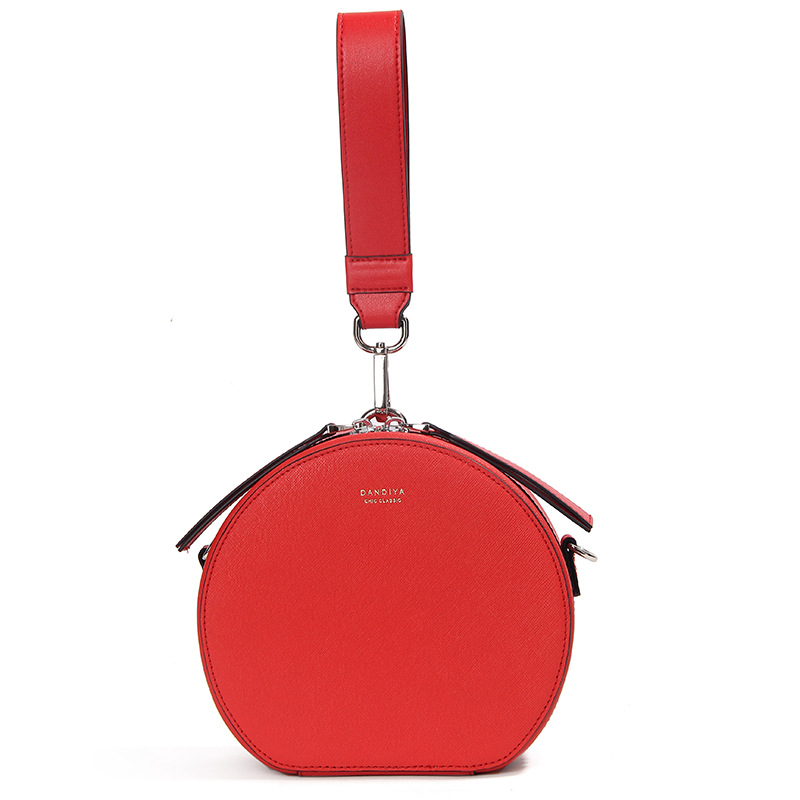 Известный дизайнер, Сумки из натуральной кожи, круглая сумка для женщин, маленькие сумки через плечо для девушек, вечерние клатчи, Bolsa Feminina - 3