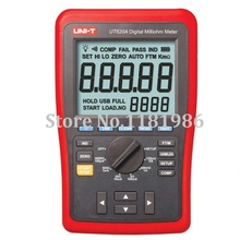 UNI-T UT620A High-Accuracy 0.25% Kelvin Four-wire Low Resistance & Wire Length Tester Micro Ohm Meter USB UT-620A